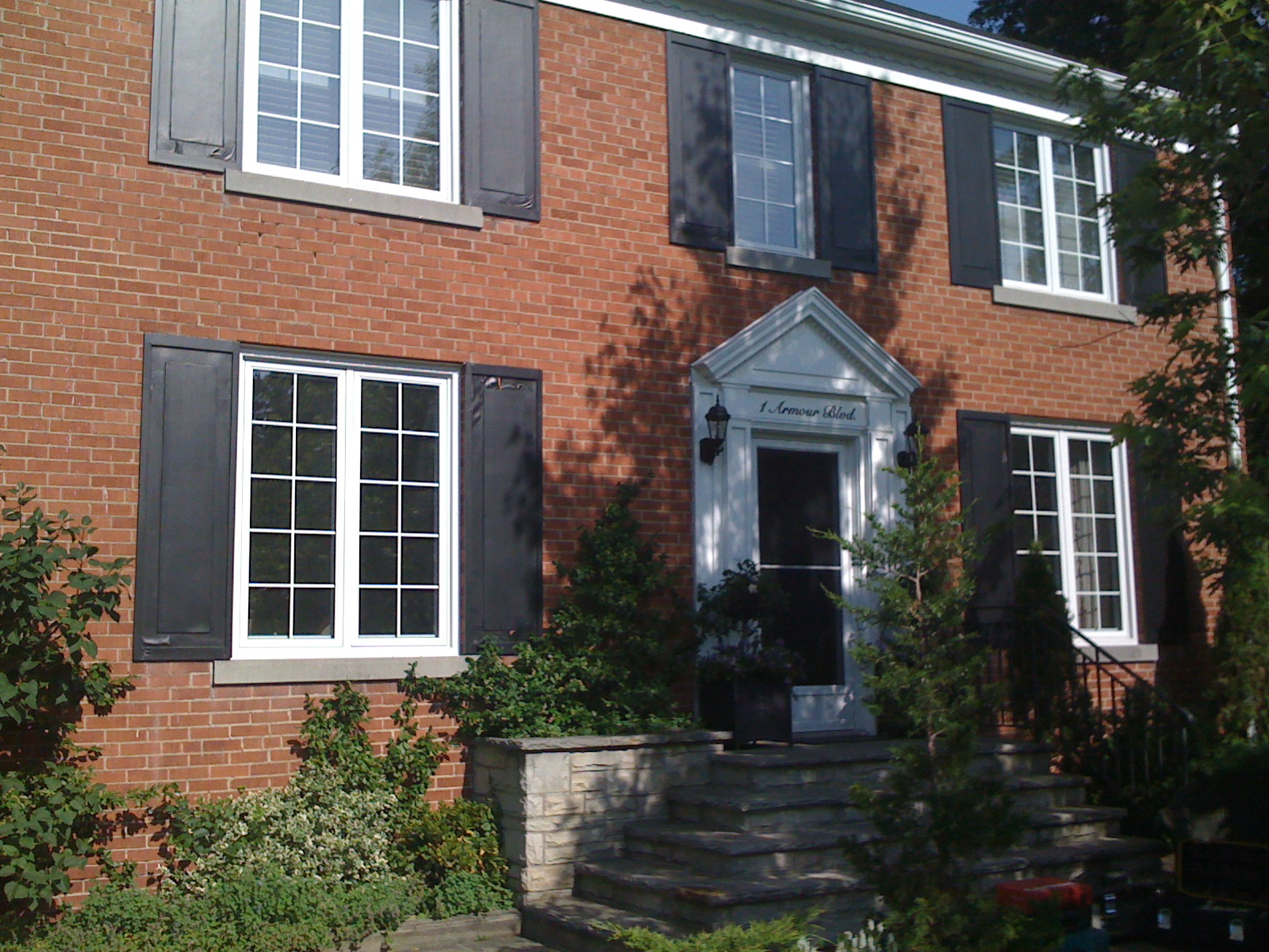 Louvered Vinyl Shutters In Toronto Amazing Window Fashions