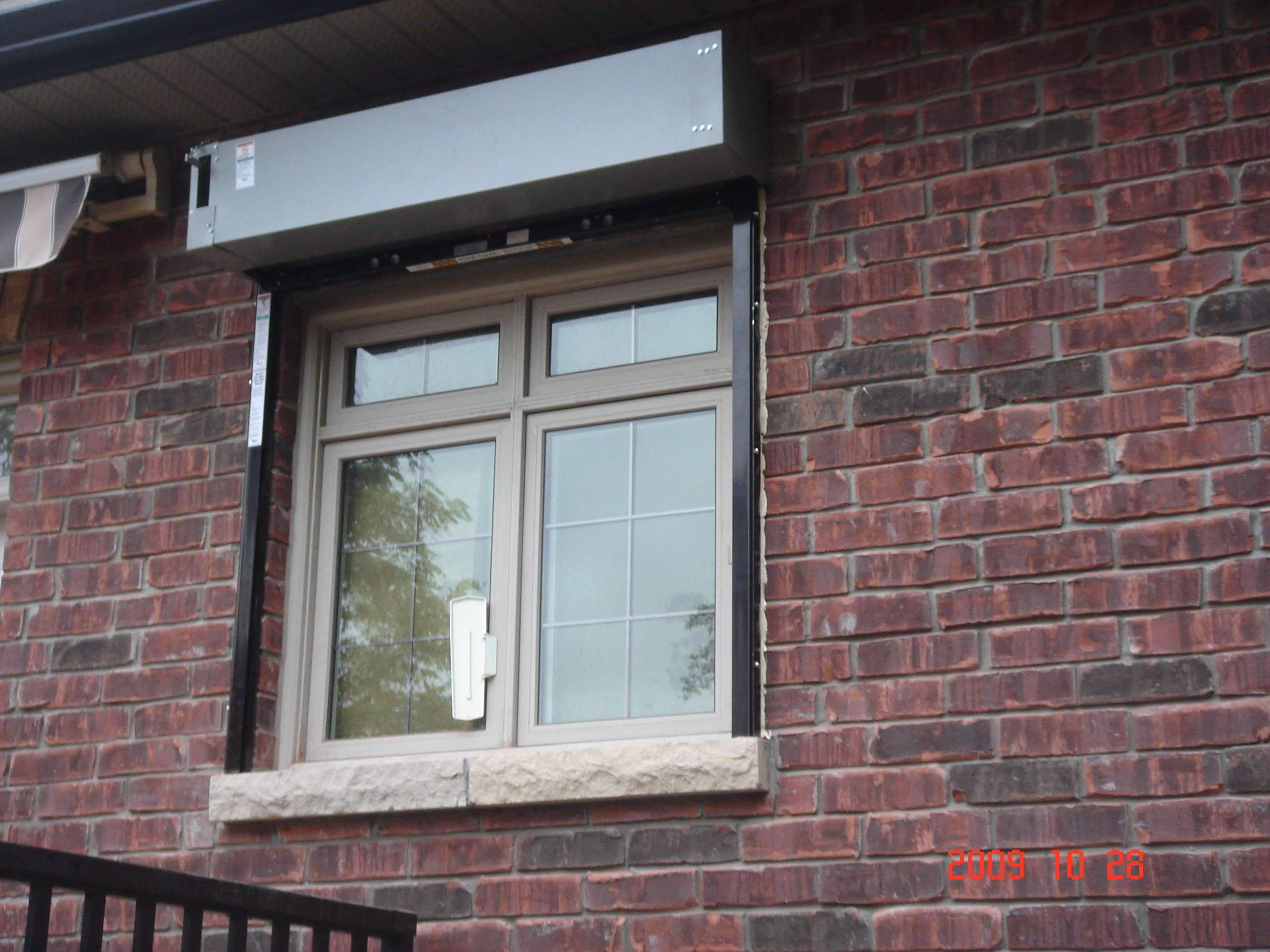 Roller Steel Doors In Toronto Amazing Window Fashions