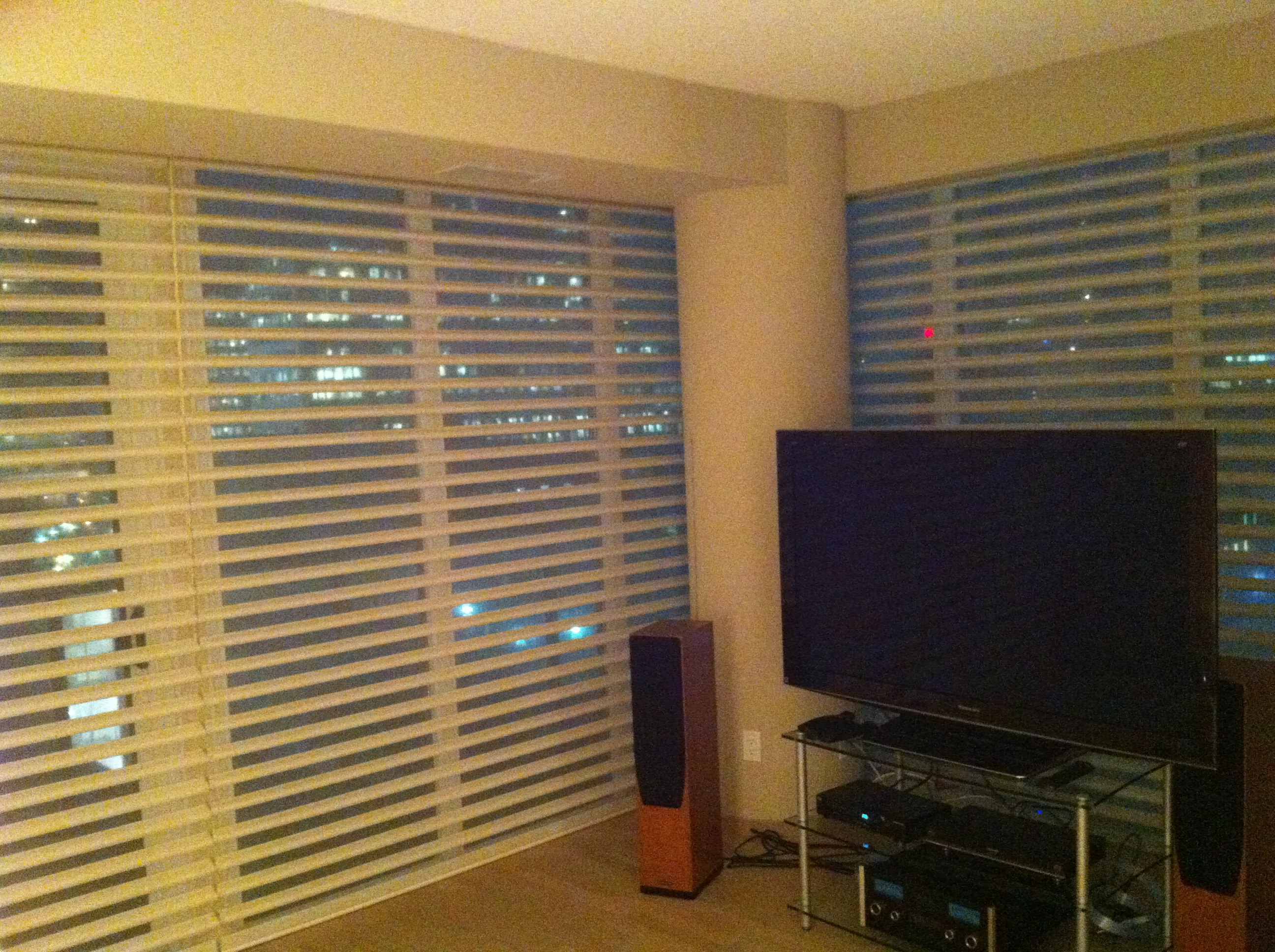 we do cleaning blind ultra system plus tiered with sonic blinds vignette silhouette